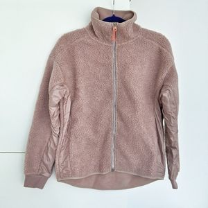 H&M Sport faux shearling jacket, NWT!